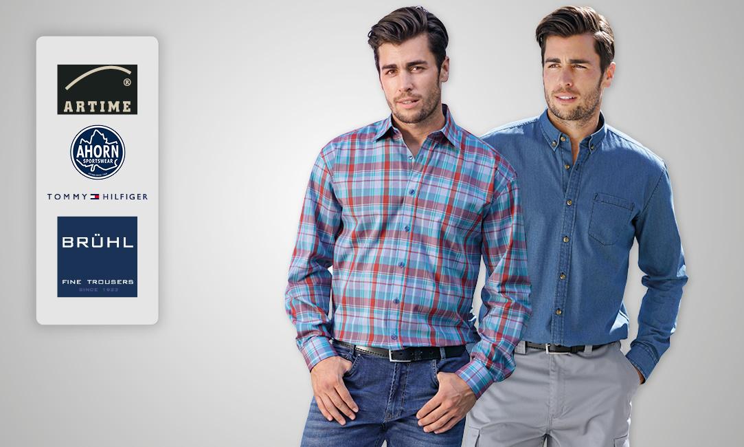 Chemises à manches longues