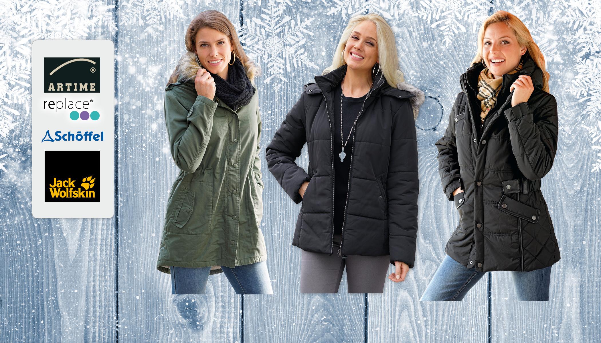Vestes d'hiver & parkas