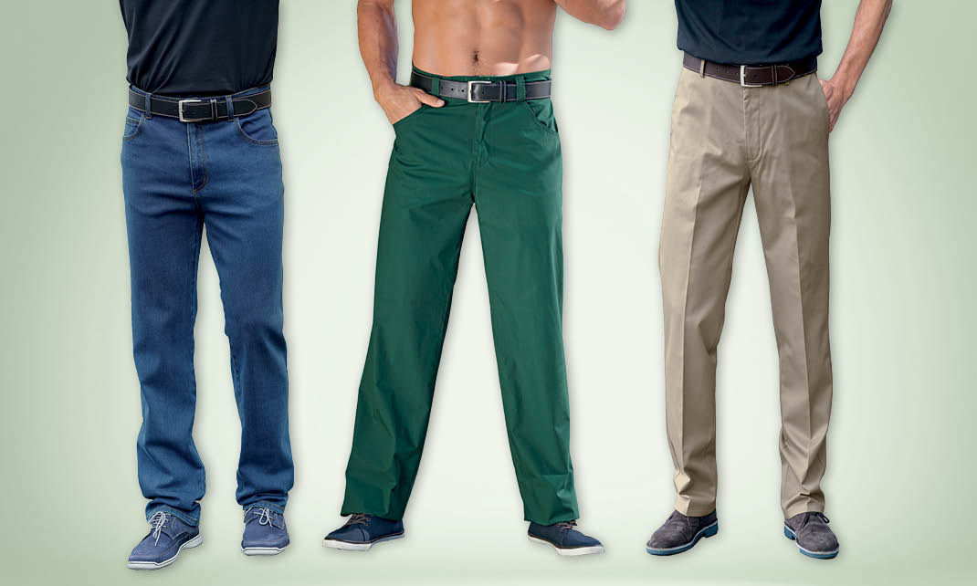 Pantalons pour hommes