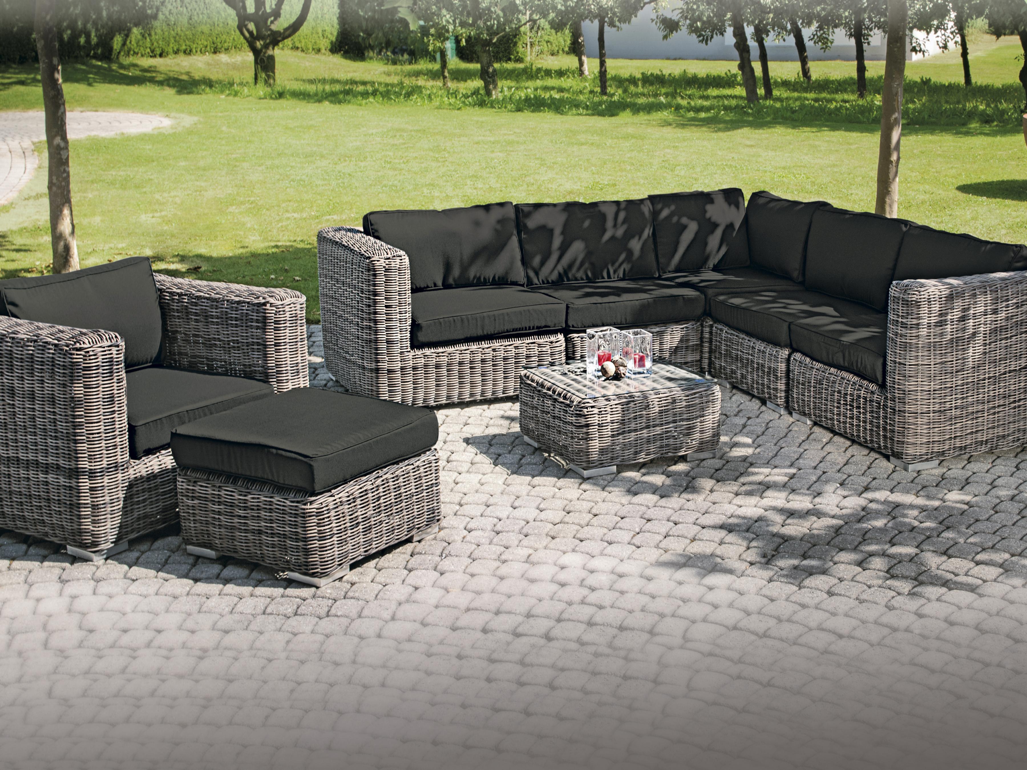 rattan gartenm bel lounge g nstig dekoration inspiration innenraum und m bel ideen. Black Bedroom Furniture Sets. Home Design Ideas