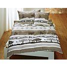 Bettwäsche mit Alpenmotiv – Kissenbezug – 50x70 cm