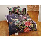 Linge de lit orné d'un motif fleuri aux superbes couleurs – Fourre de duvet – 160x210 cm