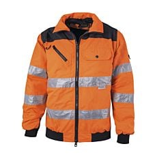 Sicherheitsjacke orange