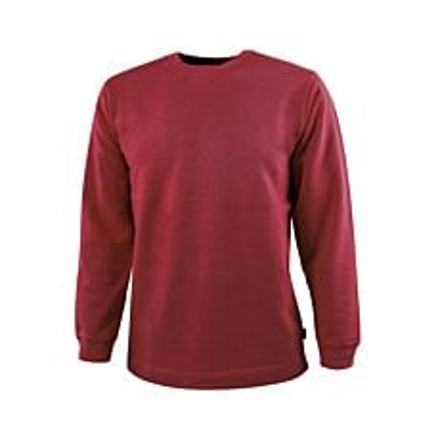 Sweat Shirt mit geradem Saumabschluss