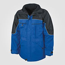 Veste outdoor 3 en 1 bleu