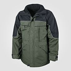 Veste outdoor 3 en 1 olive