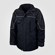Veste outdoor 3 en 1 noir