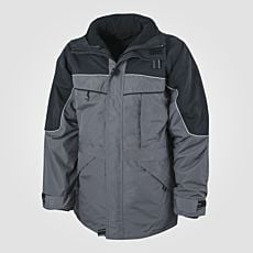 Veste outdoor 3 en 1 anthracite