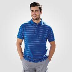 Herren Polo-Piqué-Shirt mit Brusttasche