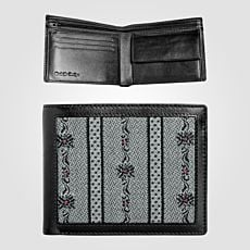 Porte-monnaie style Edelweiss - anthracite