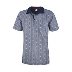ISA polo-shirt Edelweiss pour homme