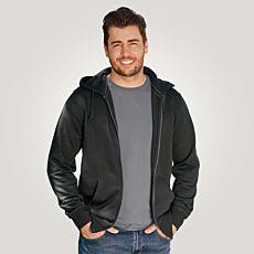 Veste à capuchon unisexe en divers coloris