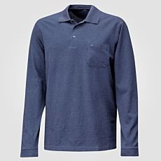 Ragman Poloshirt mit Fishnet-Design Herren