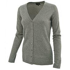 Jaquette dames en cachemire tricot