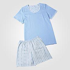ISA Edelweiss Pyjama kurz