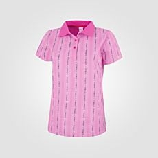 ISA polo-shirt Edelweiss pour femme