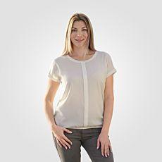 T-shirt en fibres mélangées