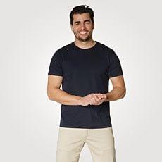 T-shirt Basic uni pour hommes
