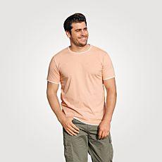 T-shirt de coupe aspect superposé