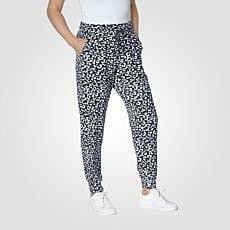 Pantalon long en jersey imprimé