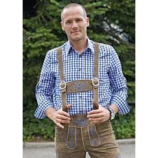 Oktoberfest-Hemd kariert für Herren