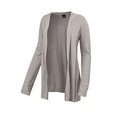 Cardigan léger en tricot, coton & viscose