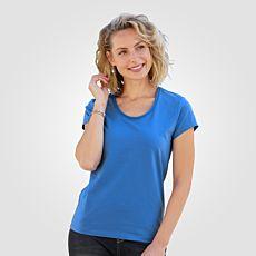 T-shirt élastique Artime à encolure arrondie