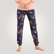 Pantalon de pyjama coloré pour dames