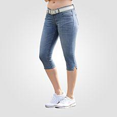 Corsaire en  jean au seyant optimal