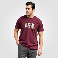 T-shirt Ahorn ASW. pour homme, grande taille