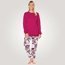 Pyjama CALIDA à longues manches pour dames