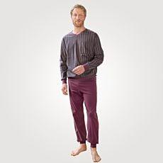 Pyjama rayé pour hommes