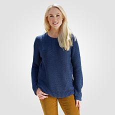 Pull-over Artime pour dames en tricot structuré