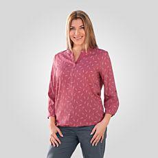 Miss Beverly Tunika-Bluse Damen mit Federprint