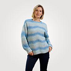 Pullover mit monochromem Farbeffekt