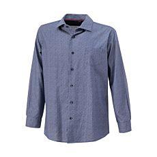 Bügelfreies Hemd mit Muster