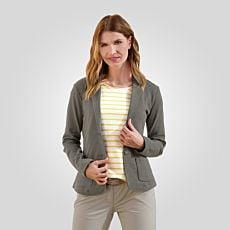 Blazer en jersey avec poches