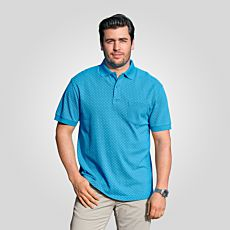 Polo-Piqué-Shirt mit Micro-Print