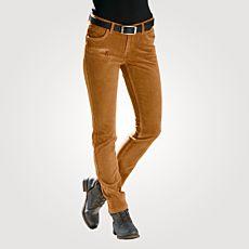 Pantalon 5-pockets en velours côtelé