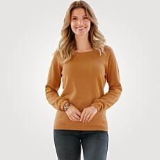 Pull-over allure gaufrée