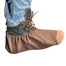 Schuhüberzieher mit Ledersohle