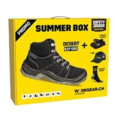 Sommer box: chaussures de sécurité