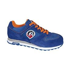 Chaussures de sécurité style sneakers bleues