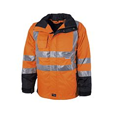Elka Visible Xtreme Regenjacke orange