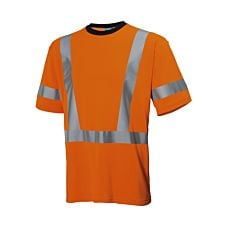T-shirt de sécurité Helly Hansen avec protecion UV orange