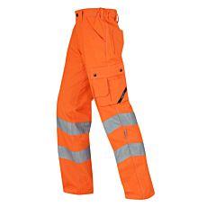 Wikland Sicherheitshose orange mit verstärkten Eingrifftaschen
