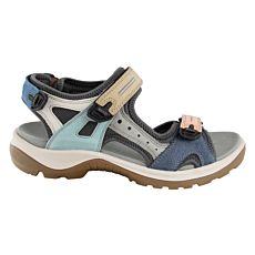 Sandalette outdoor Ecco pour dames multicolore