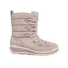 Botte à lacer Merrell Snowcreek Cozy Leather PLR WP pour dames