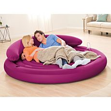Lit gonflable Lounge Intex Ø 191 cm