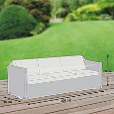 Schutzhülle grau für Sofa